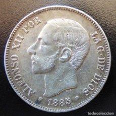 Monedas de España: 5 PESETAS ALFONSO XII 1885*18-87 .MS.M.. Lote 137510978