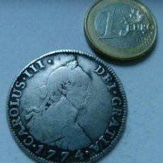 Monedas de España: MONEDA DE PLATA DE 4 REALES DE CARLOS III AÑO 1774 CECA DE POTOSÍ. Lote 137638986