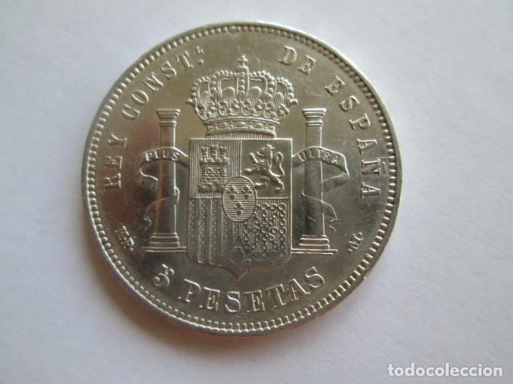 Monedas de España: ALFONSO XIII * 5 PESETAS 1888*88 MP M * PLATA - Foto 2 - 137692578