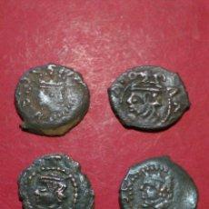 Monedas de España: LOTE DE 4 DINEROS DE VALENCIA. AUSTRIAS.. Lote 137879432