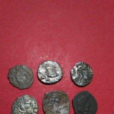 Monedas de España: LOTE DE 6 DINEROS DE ARAGON. AUSTRIAS.. Lote 137879940