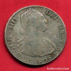 Monedas de España: MONEDA PLATA , CARLOS IV IIII , 8 REALES 1808 , POTOSI , MBC+ , ORIGINAL , M1232. Lote 138672562
