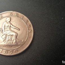 Monedas de España: GOBIERNO PROVISIONAL 10 CENTIMOS 1870 EBC+ (VER FOTOGRAFÍAS). SIN CIRCULAR. MONEDA DE ÉPOCA.. Lote 138759762