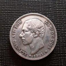 Monedas de España: ALFONSO XII 2 PESETAS PLATA 1882*18-82 MSM MBC+. Lote 138760306