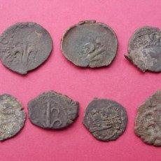 Monedas de España: LOTE MONEDAS FELIPE II LERIDA VARIAS MONEDA. Lote 138770046