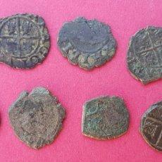 Monedas de España: LOTE MONEDAS FELIPE V ARAGON MONEDA. Lote 129030879
