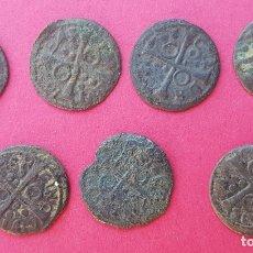 Monedas de España: LOTE 7 MONEDAS FELIPE III AÑO 1615 MONEDA. Lote 130282034