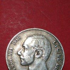 Monedas de España: ALFONSO XII. 1 PESETA. 1883. MSM *-* *83* BELLA.. Lote 138781117