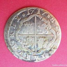 Monedas de España: MONEDA 2 REALES PLATA AÑO 1717 FELIPE V. Lote 138810034