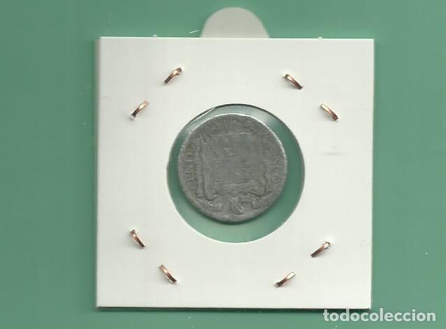 Monedas de España: ESPAÑA: 5 CÉNTIMOS 1940. ALUMINIO - Foto 2 - 154850646