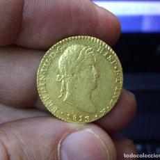 Monedas de España: 2 ESCUDOS DE ORO - FERNANDO VII - CADIZ 1813 - MUY BONITA - BRILLO ORIGINAL. Lote 138884606