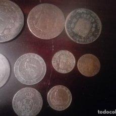 Monedas de España: LOTE 9 MONEDAS COBRE ANTIGUAS. Lote 139566050