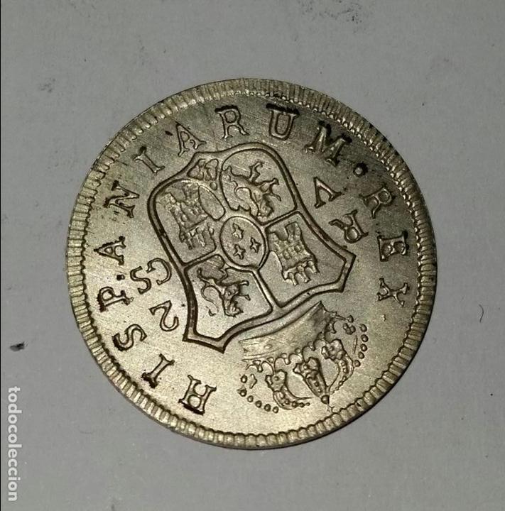 Monedas de España: RARA MONEDA 2 reales 1811 FERNANDO VII- REPRODUCCION - Foto 2 - 139597550