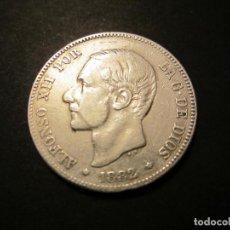 Monedas de España: MONEDA DE 2 PESETAS DE 1882 *18-82 ALFONSO XII. Lote 139917370