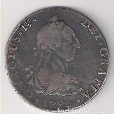 Monedas de España: MONEDA DE 8 REALES DE CARLOS IIII (IV) ACUÑADA EN POTOSÍ EN 1790. ENSAYADOR PR. PLATA. MBC- (C4-109). Lote 139973990