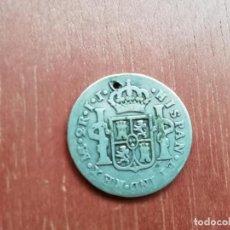 Monedas de España: 2 REALES DE PLATA DE 1788. UTILIZADA PARA COLGAR. Lote 140140150
