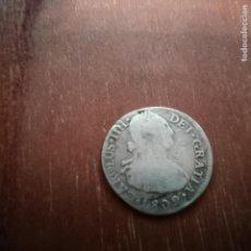 Monedas de España: 2 REALES DE PLATA DE 1802. Lote 140273910