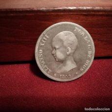 Monedas de España: BUENA 2 PESETAS DE PLATA DE 1892. Lote 140325918