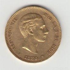 Monedas de España: MONEDA 25 PESETAS - ALFONSO XII - 1880 (ORIGINAL). Lote 140771202