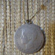 Monedas de España: MONEDA DE PLATA DE LEY ALFONSO XIII AÑO 1901 UNA PESETA.. Lote 141153898