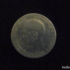 Monedas de España: MONEDAS ESPAÑOLAS 1 PTAS ALFONSO XIII 1891 PLATA . Lote 141772614
