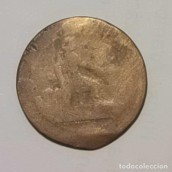 ESPAÑA - GOBIERNO PROVISIONAL - 5 CENTIMOS 1870 - COBRE. (Numismática - España Modernas y Contemporáneas - De Isabel II (1.834) a Alfonso XIII (1.931))