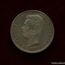 Monedas de España: 5 PESETAS 1871 (18/74). Lote 142677702