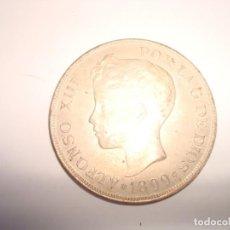 Monedas de España: DURO DE PLATA CREO QUE NO ES DE PLATA .PROVEEDOR REAL CALZADOS DE LUJO.SEVILLA.-164. Lote 142757854