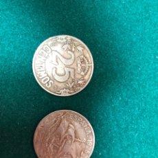 Monedas de España: MONEDAS ALFONSO XIII 25 CTS.. Lote 143052878