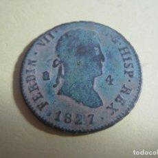 Monedas de España: MONEDA DE BRONCE FERNANDO VII AÑO 1827. Lote 143328182