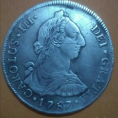 Monedas de España: 8 REALES DE PLATA CARLOS III, 1787 POTOSÍ !! MUY ESCASA !! LEER..... Lote 143332550