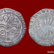 Monedas de España: REYES CATÓLICOS, 1/4 REAL DE PLATA, SEVILLA. 15 MM / 0,75 GR.. Lote 143553094