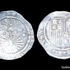 Monedas de España: REYES CATÓLICOS, 1 REAL DE PLATA, SEVILLA. 25 MM / 3,34 GR.. Lote 143553098