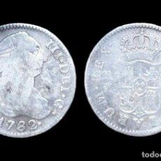 Monedas de España: CARLOS III, 2 REALES DE PLATA, MADRID 1782 - 27 MM / 5,32 GR.. Lote 143553110