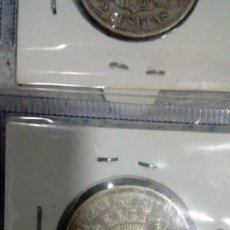 Monedas de España: MONEDA ESPAÑA 1870 2 PESETAS 100 PIEZAS EN KILOGRAMOS SEGUNDA. Lote 143639374
