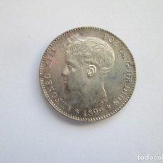 Monedas de España: ALFONSO XIII * 1 PESETA 1899*99 SG V * PLATA S/C. Lote 143932422