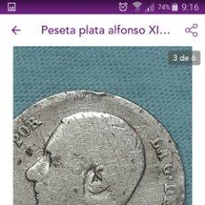 Monedas de España: LOTE 6 MONEDAS. Lote 143957120