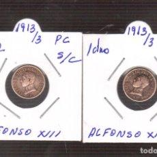 Monedas de España: 1 CENTIMO DE ALFONSO XIII 1913/03 RARILLO . Lote 144101994