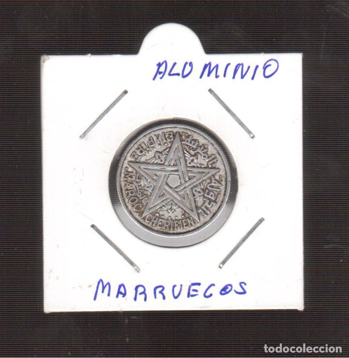 MONEDA DE ALUMINIO DE MARRUECOS 1951 LA QUE VES (Numismática - España Modernas y Contemporáneas - De Isabel II (1.834) a Alfonso XIII (1.931))