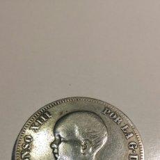 Monedas de España: ALFONSO XIII 2 PESETAS DE PLATA 1892 PG M. Lote 144280157