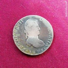 Monedas de España: RARO 8 REALES DE PLATA DE 1813. CECA GUANAJUATO. Lote 144618442