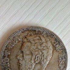 Monedas de España: 5 PESETAS AMADEO I 1871. Lote 144622078