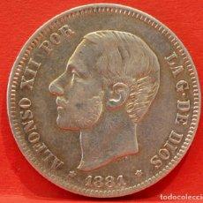 Monedas de España: 2 PESETAS 1881 *--*81 ALFONSO XII PLATA ESPAÑA. Lote 52015219