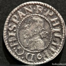 Monedas de España: MEDIO CROAT 1612 BARCELONA FELIPE III MEDIO REAL PLATA ESPAÑA. Lote 126635379