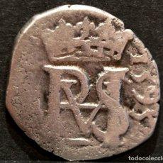 Monedas de España: ½ MEDIO REAL 1593 SEVILLA FELIPE II PLATA ESPAÑA. Lote 62878380