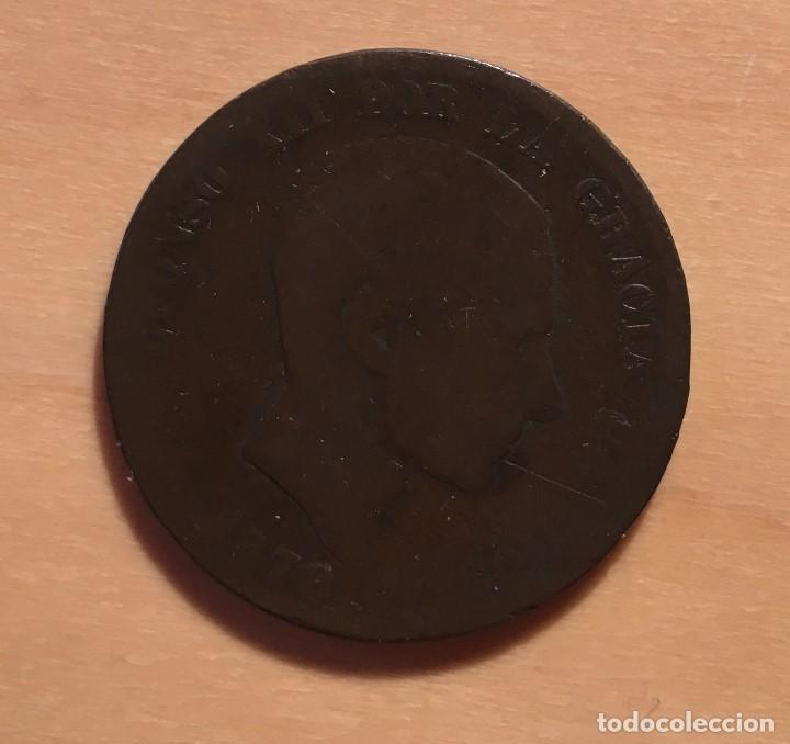 ALFONSO XII * 10 CENTIMOS 1877 OM BARCELONA (Numismática - España Modernas y Contemporáneas - De Isabel II (1.834) a Alfonso XIII (1.931))