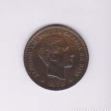 Monedas de España: MONEDAS - ALFONSO XII - 5 CÉNTIMOS 1878 BARCELONA (EBC-). Lote 145316114