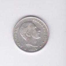 Monedas de España: MONEDAS - ALFONSO XII - 10 CENTAVOS DE PESO 1883 - MANILA - PG-52 (MBC). Lote 145316554