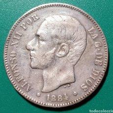 Monedas de España: 5 PESETAS PLATA 1884 *18*84 ALFONSO XII. Lote 145632634