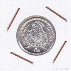 Monedas de España: ESPAÑA: ALFONSO XIII 50 CÉNTIMOS 1926 PC S SIN CIRCULAR PLATA R 3164. Lote 145899674